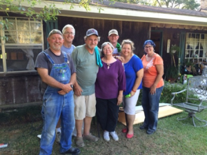 ADOTS & DWGC Relief Team, hosted by Holy Cross Anglican, Covington, LA.