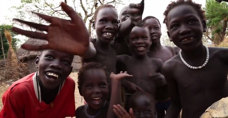 Children impacted by ARDF-supported projects in Gambella, Ethiopia.